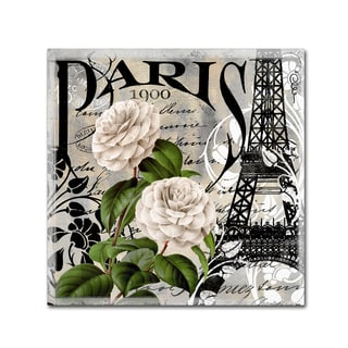 Color Bakery 'Paris Blanc II' Canvas Art