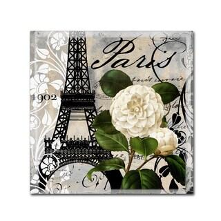 Color Bakery 'Paris Blanc I' Canvas Art