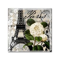Color Bakery 'Paris Blanc I' Canvas Art