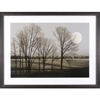 November Moon in Gunmetal Silver Finish Frame