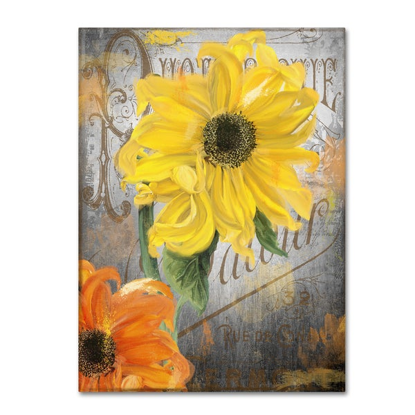 Color Bakery 'Sunflower Studio' Canvas Art
