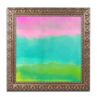 Color Bakery 'Gradients I' Ornate Framed Art