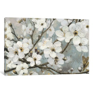 iCanvas 'Cherry Blossoms I' by James Wiens Canvas Print