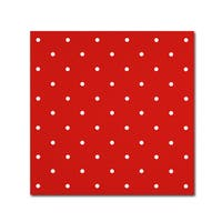 Color Bakery 'Aria III' Canvas Art - Red
