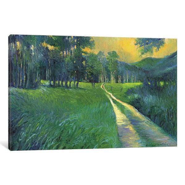 iCanvas Crestone Path by Richard Wallich Canvas Print