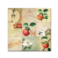 Color Bakery 'Apple Blossoms IV' Canvas Art