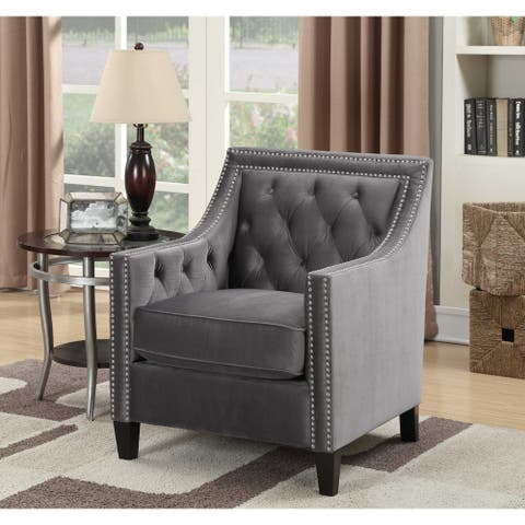 Picket House Furnishings Teagan Tufted Upholstered Accent Chair