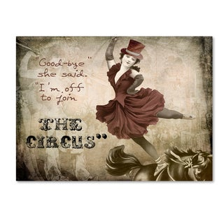Color Bakery 'Join The Circus' Canvas Art