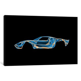 iCanvas 'Ford GT40' by Octavian Mielu Canvas Print