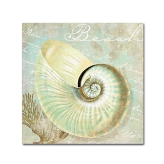 Color Bakery 'Turquoise Beach IV' Canvas Art
