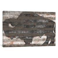 iCanvas 'Buffalo II' by Diego Tirigall Canvas Print
