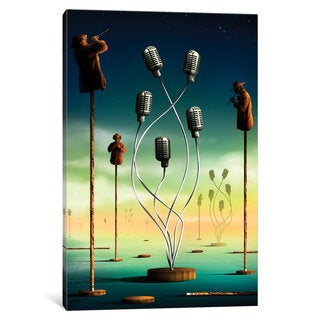 iCanvas 'Flautistas (Flutists)' by Marcel Caram Canvas Print