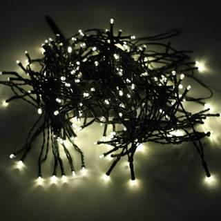 Warm White 200-LED Solar Powered Waterproof Outdoor String Light Christmas Decoration