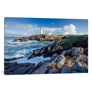 iCanvas 'Fanad Head Lighthouse, County Donegal, Ulster Province, Republic Of Ireland' by Gareth McCormack Canvas Print
