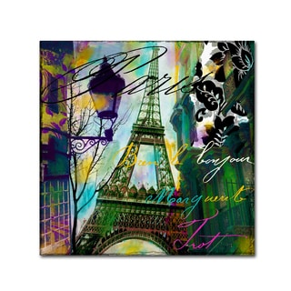 Color Bakery 'To Paris With Love I' Canvas Art