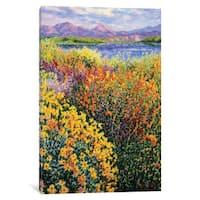 iCanvas Lago Lindo by Diane Monet Canvas Print