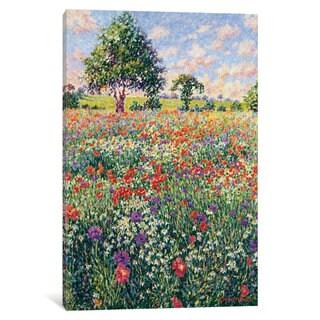 iCanvas 'Fun In The Sun' by Diane Monet Canvas Print