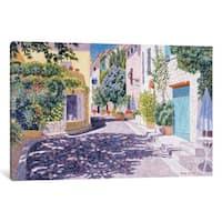 iCanvas 'Castellet' by Diane Monet Canvas Print