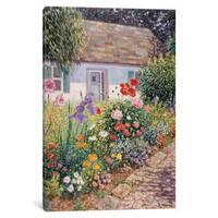 iCanvas 'Around The Corner' by Diane Monet Canvas Print
