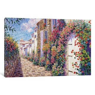 iCanvas 'Antibes' by Diane Monet Canvas Print