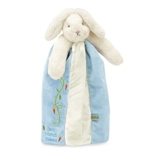 Bunnies By The Bay Baby Bud's Buddy Blue Blanket