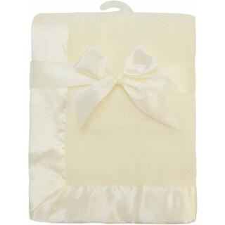 American Baby Company Ecru Fleece Blanket
