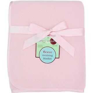American Baby Company Pink Fleece Blanket