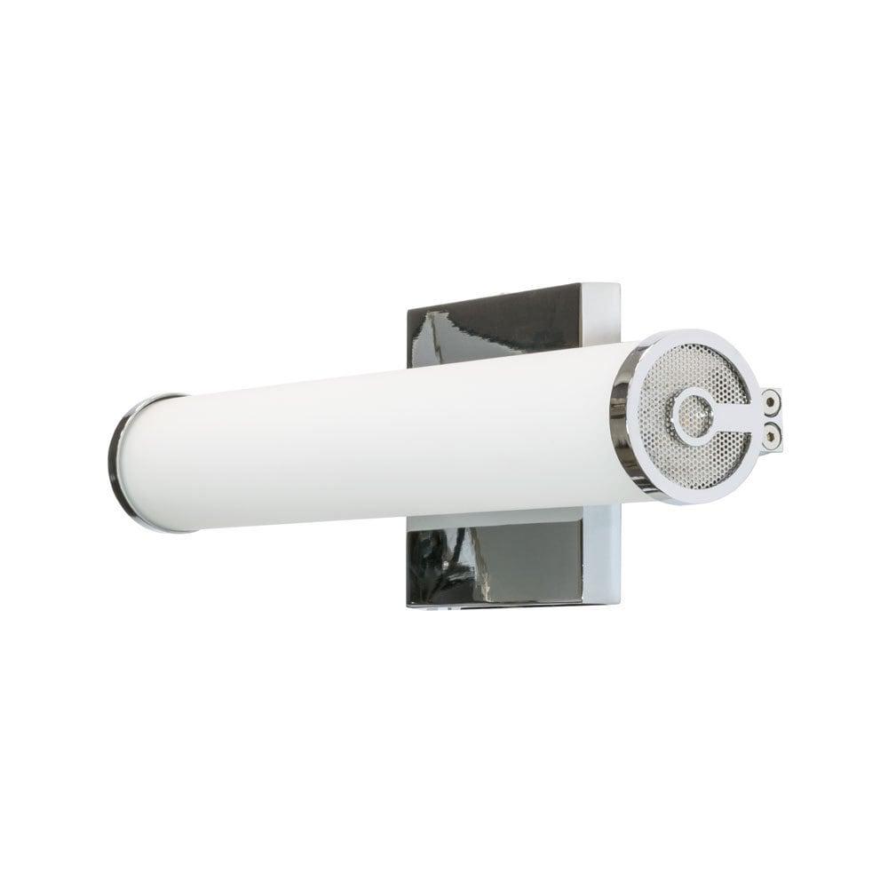 JESCO Brighton Chrome-finished 3000K 13-inch LED Bathroom...