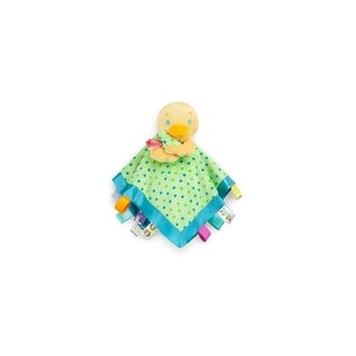 Bright Starts Duck Soothe Me Snuggles Tag Blankie