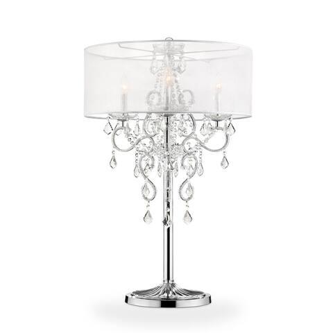 Evangelia Crystal Table Lamp