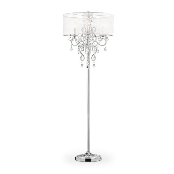 Evangelia Crystal 63-inch Floor Lamp