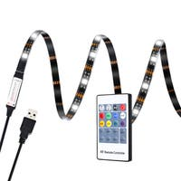 USB Multicolor LED TV/ Monitor Bias Lighting Strip - N/A