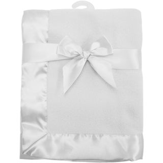 American Baby Company Grey Fleece Blanket