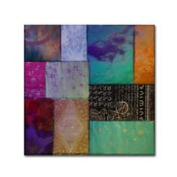 Color Bakery 'Afrikan Batik I' Canvas Art