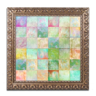 Color Bakery 'Paintbox' Ornate Framed Art