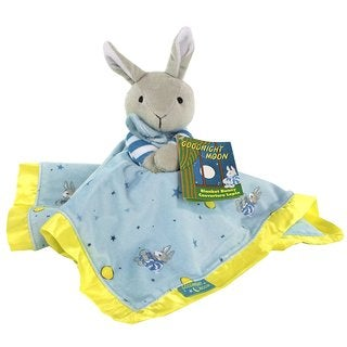 Kids Preferred Goodnight Moon Multicolor Blanket Bunny