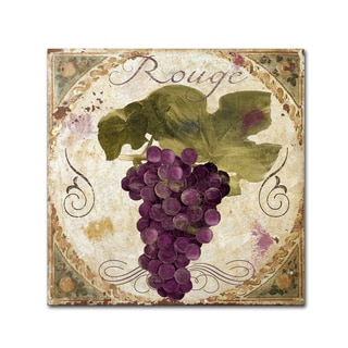 Color Bakery 'Tuscany Table Rouge' Canvas Art
