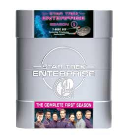 Star Trek: Enterprise The Complete First Season (DVD)