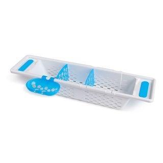 Munchkin White Plastic Secure Grip Caddy Bath Basket
