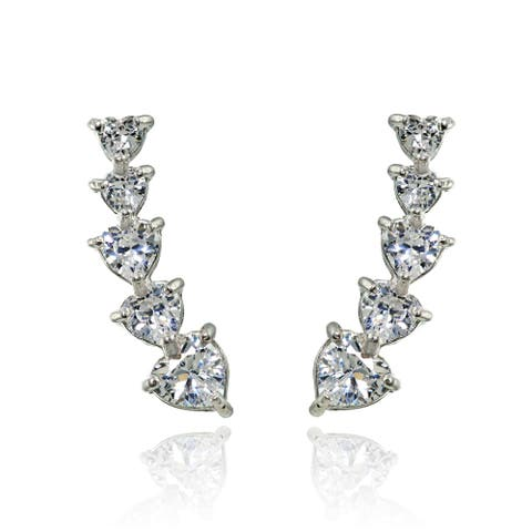 87ea315ae Ear Climber Earrings | Find Great Jewelry Deals Shopping at Overstock
