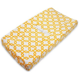 American Baby Company Gotcha Heavenly Golden Yellow Soft Chenille Fitted Contoured Changing Pad Cover