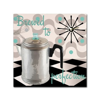 Color Bakery 'Fifties Kitchen V' Canvas Art