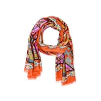 Veroma Women's Tantra Silk Scarf (India) - L