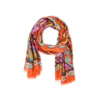 Saachi Women's Tantra Silk Scarf (India)