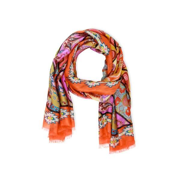 3c26c81a8 Shop Veroma Women's Tantra Silk Scarf (India) - L - On Sale - Free ...