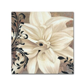 Color Bakery 'Winter White II' Canvas Art - Off-White (4 options available)