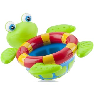 Nuby Turtle Multicolor Floating Bath Toy