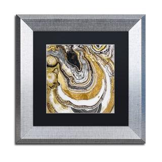 Color Bakery 'Stone Prose' Matted Framed Art