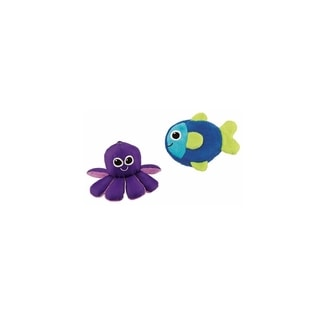 Sassy Nylon and Terry Cloth 2-piece Soft Swimmers Bath Toy Set