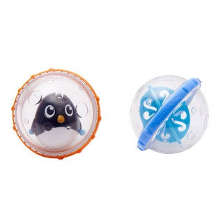 Munchkin Penguin Float and Play Bubbles Bath Toy